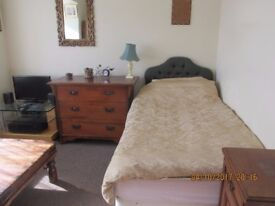 Double size room for single occupancy for rent in Upper Parkstone