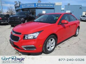 2015 Chevrolet Cruze LT 2LT - LEATHER/SUNROOF/CAMERA