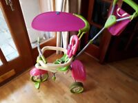 Smart Trike Pink and Green