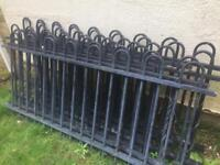 Jackson metal fence (very heavy)