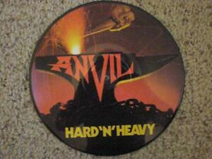 Picture Disc Vinyl LP ANVIL HARD 'N' HEAVY-1983 FRENCH IMPORT