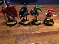 4 Nintendo Amiibo for sale or swaps