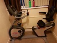 Star trac pro commercial recumbant excercise bike