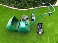 Suffolk Punch Lawnmower - petrol engine with 14 inch cylinder