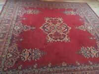 Extra large wool rug