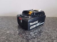 MAKITA 18v LXT LI-ION BL1830b (3AH) (BATTERY GAUGE) battery