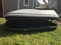 Halfords Large Grey Car Roof Box