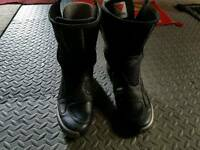 Dainese race boots size 8