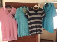 Hollister/Fred Perry/Superdry Polos Size Small