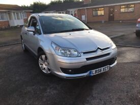 Citroen c4 1.6 petrol 2007 Coupe