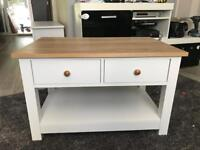 New! Coffee table with drawers