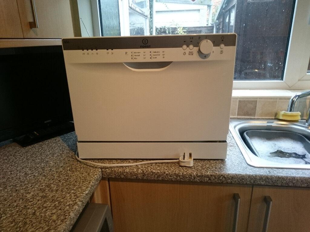 indesit counter top dishwasher small mini worktop. Black Bedroom Furniture Sets. Home Design Ideas
