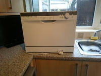 INDESIT Counter Top Dishwasher - Small / Mini / Worktop / Tabletop - 6 Place Settings - AAA