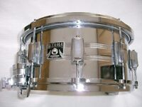 "Tama Imperial Star seamless steel snare drum 14 x 6 1/2"" - Japan - '70s - KingBeat - Mongrel"
