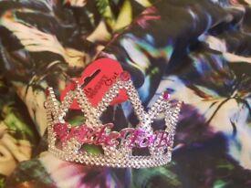Bride to be crown, hen party lànybúcsú tiara , korona Hen party