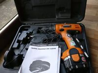 Perfect condition combo drill with case and catalouge