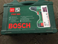Bosch cordless screwdriver PSR 960