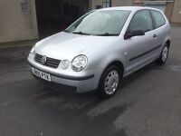 BARGAIN 2005 VW POLO 1.2 SERVICE HISTORY 1 YEARS MOT RELIABLE CAR PX WELCOME £695