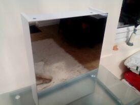 J. Lewis Single Bathroom Cabinet. Never used.