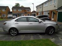 2012 MG6 magnette 25000 miles saloon silver.