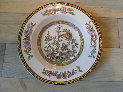 "VINTAGE WASHINGTON POTTERY 'INDIAN TREE' 9"" SOUP PLATE c.50's EX"