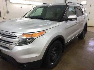 2013 Ford Explorer LIMITED - HTD STEERING, HTD LEATHER SEATS, NA