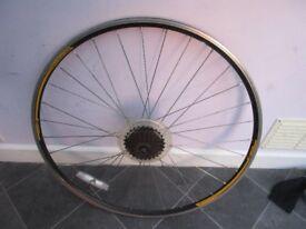 Rear 700C Road Bike Wheel 7 speed Racer Racing Bicycle