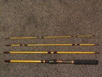 Eagle Claw 4pc 7.5 ft (229 cm) Pack-It Spinning/Fly Rod