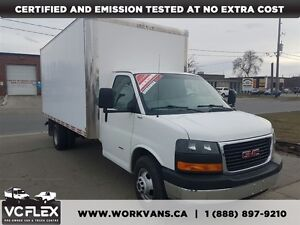 2011 GMC Savana 3500 16Ft Duramax Diesel 6.6LV8 + Ramp