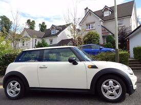 12 MONTH WARRANTY! (2009) MINI ONE 1.4 Pepper Pack New Model WHITE One Owner- MINI History- Top Spec