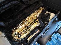 Jupiter Saxophone with everything you need to play