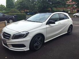 Immaculate condition A180 Cdi amg sport mercedes benz, one lady owner, 8000 miles. Fully serviced