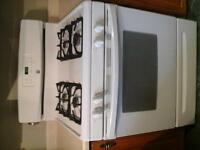 Kenmore Gas Range w/variable self clean white