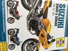 Suzuki Haynes Service & Repair Manual
