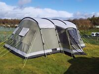 2014 Montana 6P Tent plus fitted carpet, kitchen unit , electric hook up, light and hob