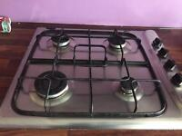 Indesit stainless steel gas hob for quick sale x