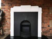 Art Deco Cast Iron Fireplace CHEAP DELIVERY UK
