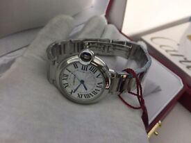 New Swiss LADIES Cartier Ballon Bleu Watch