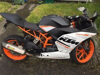 KTM RC390 lots of extras