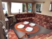 12FT WIDE STATIC CARAVAN ISLE OF WIGHT FINANCE AVAILABLE SITE FEES COVERED UNTIL 2018 NEAR THORNESS