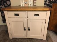 Kemble Rustic Solid Oak Painted Sideboard