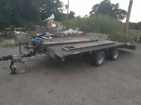 1250 £indespension beavertail twinax car transport trailer 2600 gross electric winch