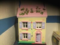 Dolls house and basement house