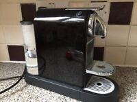 Nespresso machine black