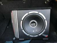 Car Subwoofer Vibe Vented 12""