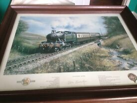 Don Breckon Limited Edition 'Coasting Home' Framed and signed Numbered Print