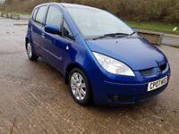 MITSUBISHI COLT CZ2 1.5 DIESEL NEW MOT ECONOMICAL FAMILY CAR