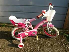 "14 "" hello kitty bike"
