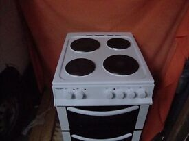 used item its a bush ae56tw electric cooker. had a damaged top but that has now been changed.