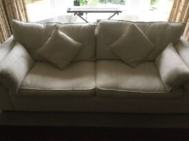 Collins and Hayes Three Seater Sofa